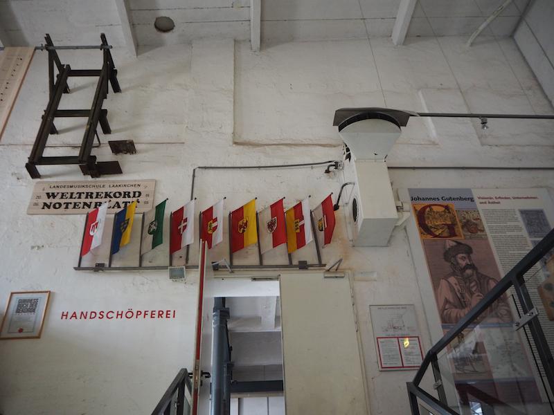 Los geht's: Heimat des kreativen Vorhabens ist die Original-Papierfabrik in Laakirchen aus dem 19. Jahrhundert.