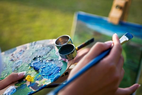 Malen, Fotografieren und vieles mehr im Kreativ-Zentrum der Akademie Geras im Waldviertel, Niederösterreich!