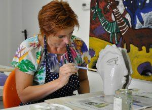 Erwachsenen Keramikkurs im Kunstmuseum Waldviertel