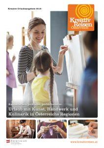 Titelseite Kreativ Reisen Österreich Magazin 2018